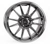 Cosmis Racing R1 Black Chrome Wheel 18x10.5 +32mm Offset 5x114.3