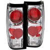 ANZO 1982-1994 Chevrolet S-10 Taillights Chrome