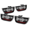Spyder Chevy Camaro 10-13 LED Tail Lights Black ALT-YD-CCAM2010-LED-BK