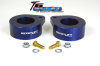 ReadyLift Suspension 07-15 Jeep Wrangler JK 2.0in T6 Billet Aluminum Leveling Kit Anodized - Blue