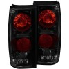 ANZO 1982-1994 Chevrolet S-10 Taillights Dark Smoke