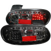 ANZO 1998-2005 Mazda Miata LED Taillights Black