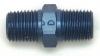 Edelbrock 1/4In NPT X 1/4In NPT Male Pipe Nipple Blue