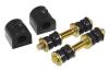 Prothane 00-04 Ford Focus Rear Sway Bar Bushings - 20mm - Black