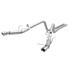 MagnaFlow 13 Ford Mustang V6 3.7L Competition Dual Split Rear Exit Stainless Cat Back Perf Exhaust