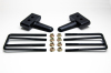ReadyLift Suspension 04-15 Ford F150 1.5in Tall OEM Style Rear Lift Block Kit w/ U-Bolts