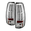 Spyder Chevy Avalanche 07-13 LED Tail Lights Chrome ALT-YD-CAV07-LED-C