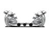 Akrapovic 10-15 Ferrari 458 Italia/458 Spyder Slip-On Line (Titanium) w/ Carbon Tips