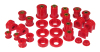 Prothane 05+ Ford Mustang Total Kit - Red