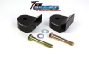 ReadyLift Suspension 05-15 Ford F250/350/450 1.5in T6 Billet Aluminum Leveling Kit Anodized - Black