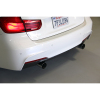 Dinan Free Flow Stainless Steel Exhaust w/ Black Tips - BMW M240i 2016