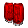 Spyder Chevy Avalanche 07-13 LED Tail Lights Red Clear ALT-YD-CAV07-LED-RC