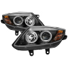 Spyder BMW Z4 03-08 Projector Headlights Halogen Model Only - LED Halo Black PRO-YD-BMWZ403-HL-BK