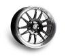 Cosmis Racing XT-206R Black w/ Machined Lip Wheel 17x8 +30mm 5x114.3