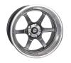 Cosmis Racing XT-006R Gun Metal w/ Machined Lip Wheel 18x11 +8mm 5x114.3