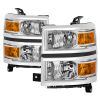 Spyder Chevrolet Silverado 1500 14-15 (Non-HD) OEM Style Headlights - Chrome HD-JH-CS14-AM-C