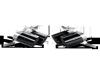 Akrapovic 10-14 Lamborghini Gallardo LP 570-4 Coupe/Spyder Tail Pipe Set (Carbon)
