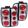 ANZO 1998-2002 Lincoln Navigator Taillights Chrome
