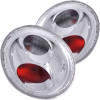 ANZO 1998-2005 Volkswagen Beetle Taillights Chrome