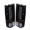 Spyder Chevy Astro/Safari 85-05 LED Tail Lights Black ALT-YD-CAS85-LED-BK