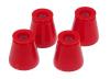 Prothane 01-03 Chrysler PT Cruiser Rear Coil Spring Isolator - Red