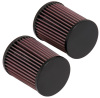K&N 04-07 Honda CBR 1000 RR 5in H x 4in Base OD x 3.75in Top OD Tapered Conical Air Filter