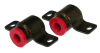 Prothane 05-13 Ford Mustang Front Control Arm Bushings (Rear Bushings Only) - Red